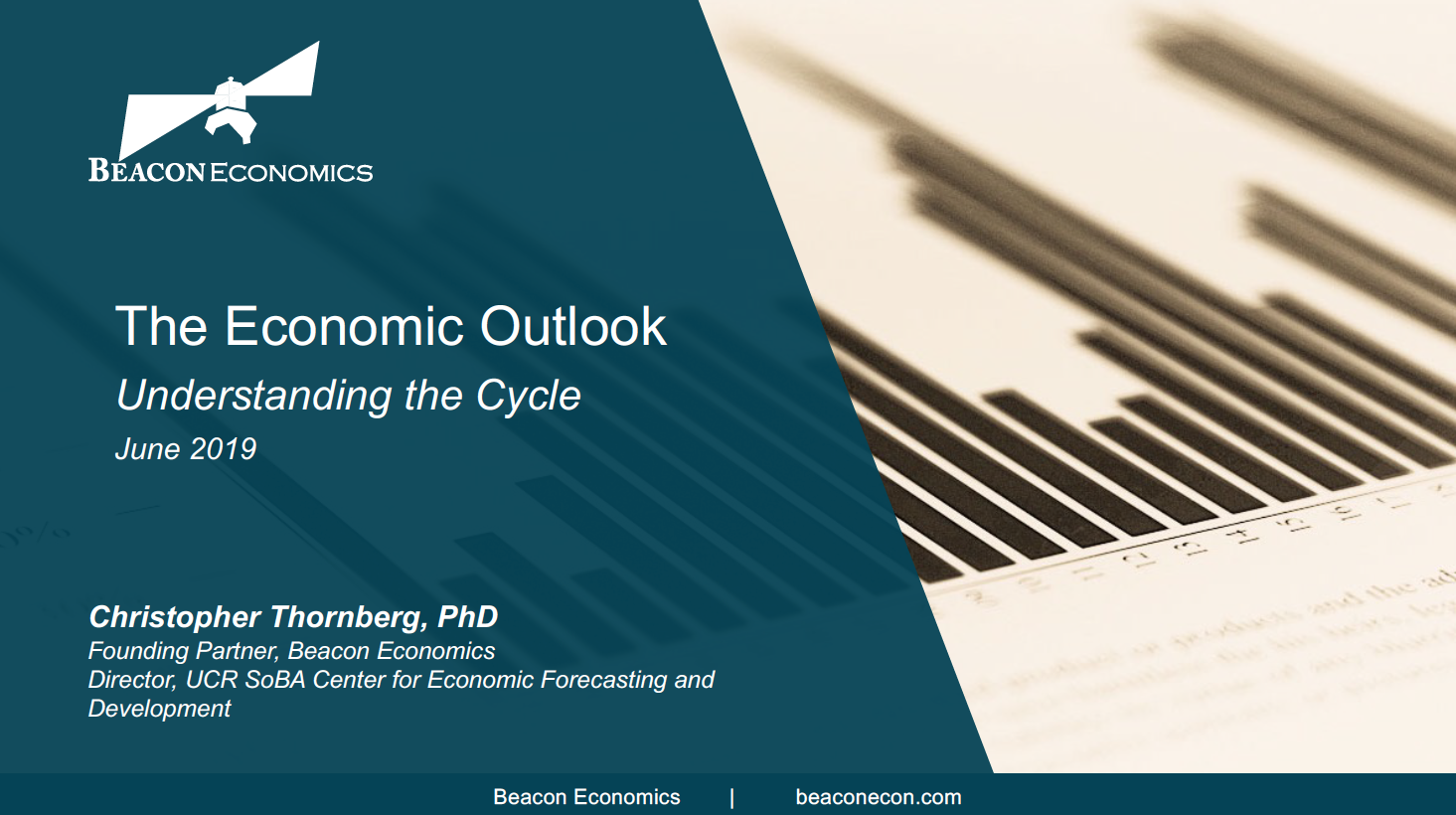 The Economic Outlook Christopher Thornberg